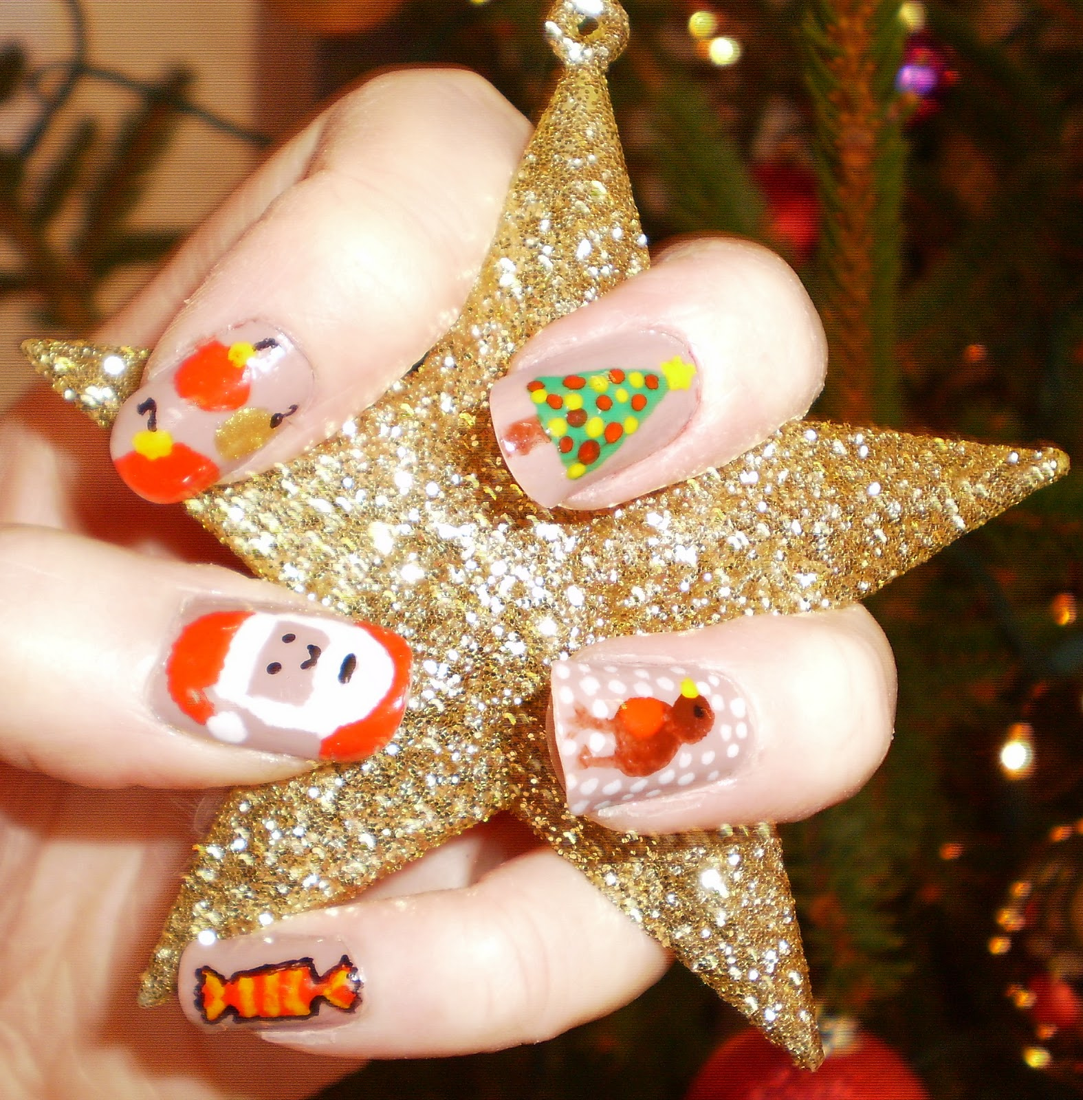 Nail Daze: Christmas Nails