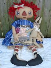 Raggedy Annie & Bunny