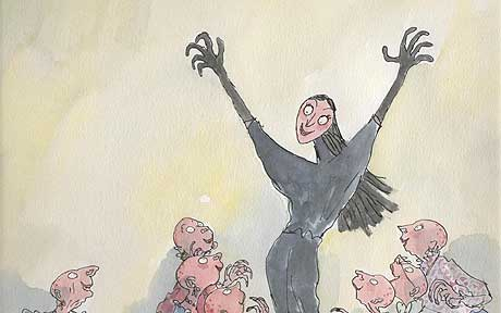 The witches roald dahl illustrations