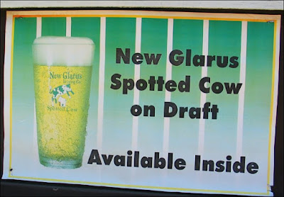 Spotted Cow sign