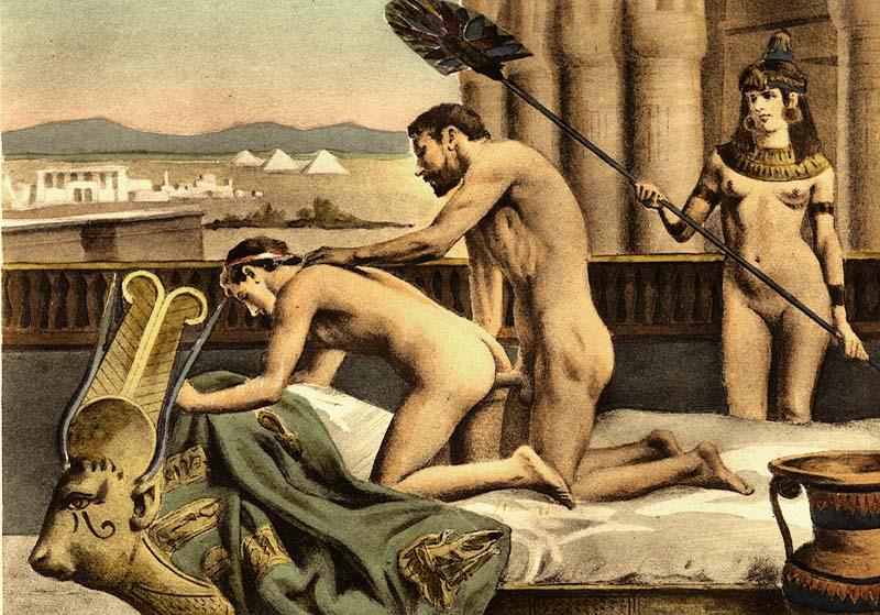 эротика древних фото