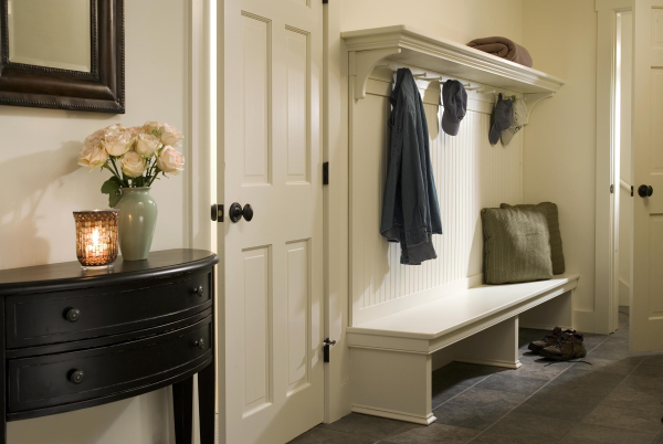 Mudroom Bench Idea