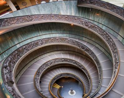 escaleras en espiral nicas por su diseo