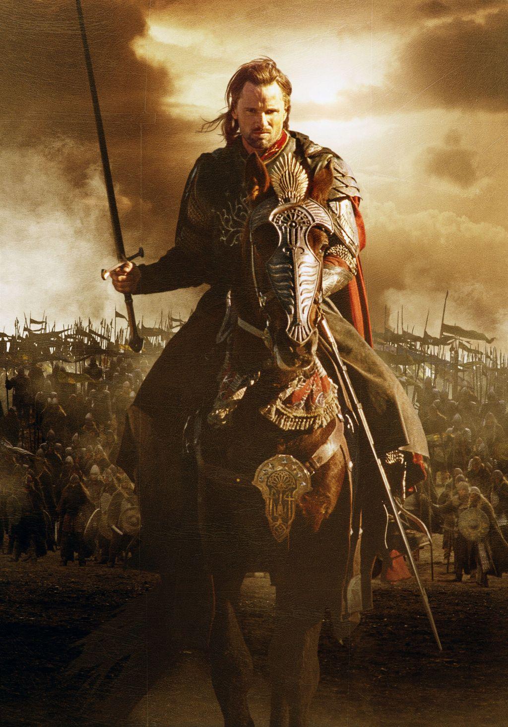 Return Of The King Aragorn For The Gentlemen: GOT...