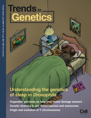 Cover for Trends in Genetics, June 2009