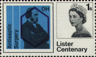 Lister centennary stamp (1965)