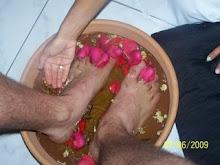 Ofereça um escalda pés de presente