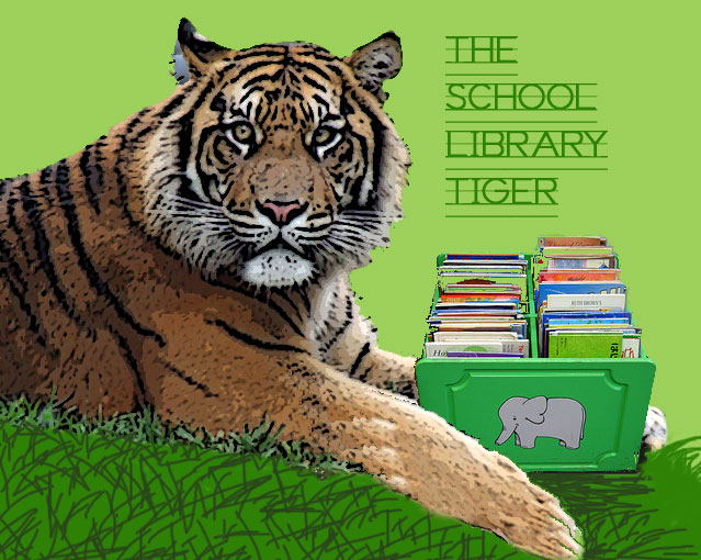 The School Library Tiger