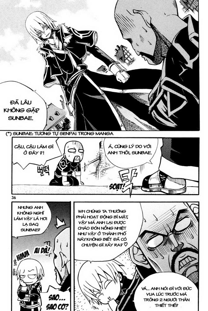 Witch Hunter – Thợ Săn Phù Thủy chap 1 Trang 35 - Mangak.info