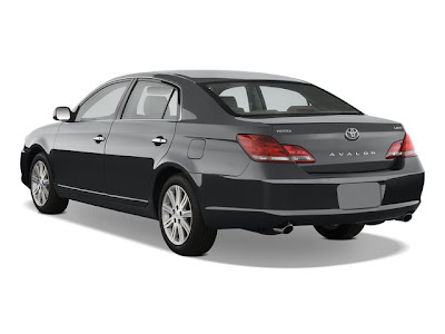 2010 Toyota Avalon Limited Edition Angular Rear View