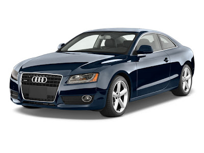 2010 Audi A5 Angular Front View