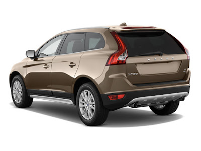 2010 Volvo XC60 Rear View