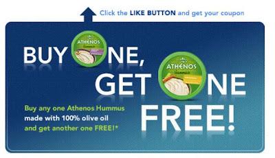 Athenos Hummus Printable Coupon