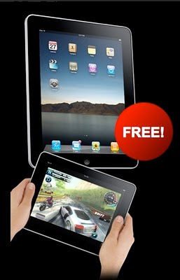 Free Apple iPad
