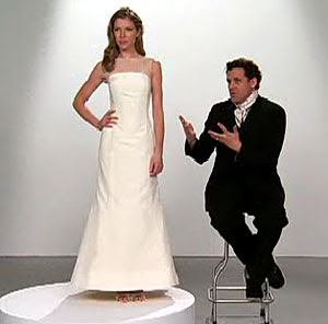 issac mizrahi's target wedding dress