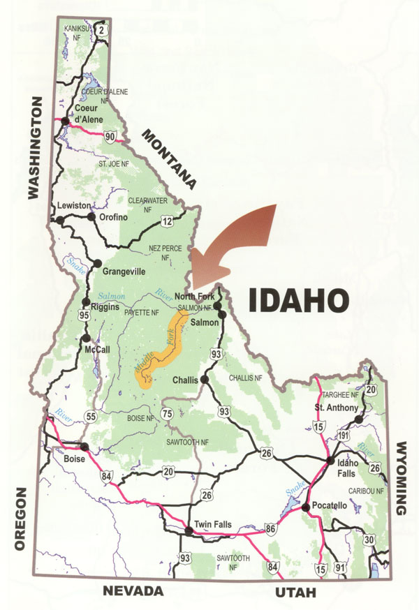 idaho towns map with Frank Church River Of No Return on State as well Algeria Satellite Image in addition Kansas besides Id Haydenlake moreover 874526.