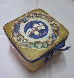Caixa de biscoitos