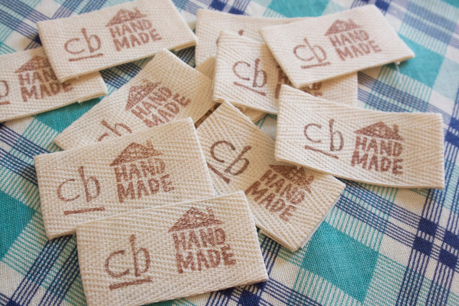 craftyblossom fabric labels a tutorial With fabric label maker