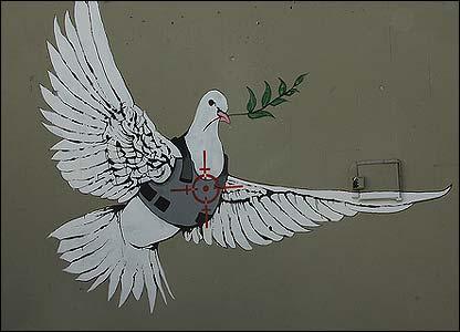 mensajera de la paz