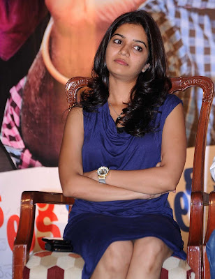 subramaniapuram Actres Swathi in blue dress wallpapers