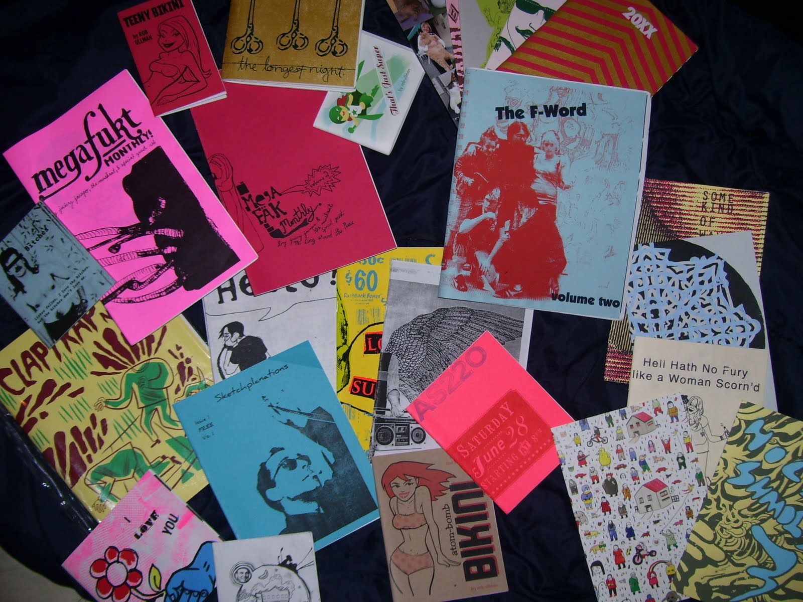 Eric lawrence art 39 zines for Kinkos t shirt printing