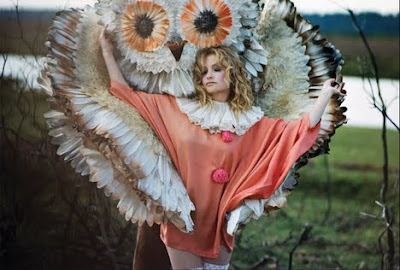 owl costume, in love with animals, humans dressing like animals, birds, bird costume, animal love