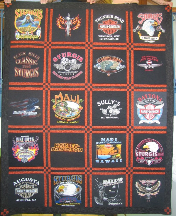 My Beeswax: Harley Quilt No. 2 : harley davidson quilting fabric - Adamdwight.com