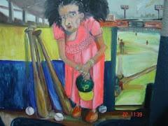 aficionada al beisbol