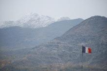La Kapisa, vue de la FOB de Nijrab