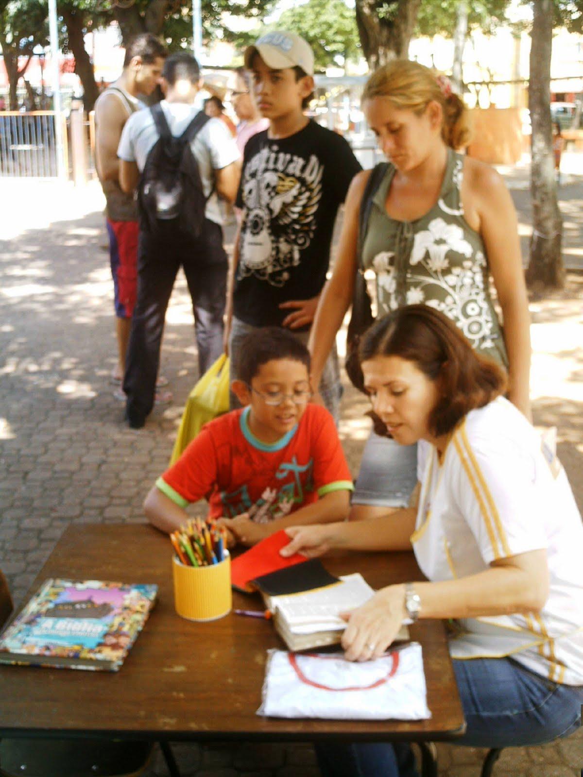 Praça Ary Coelho - Semana da Biblia