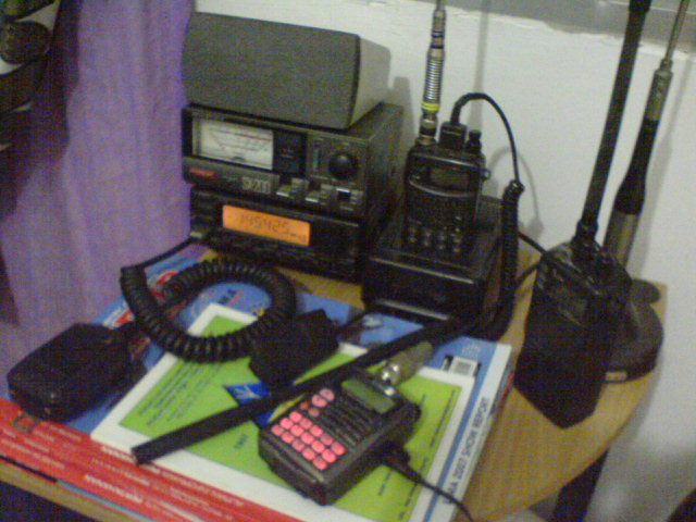 My Mini Amateur Radio Station