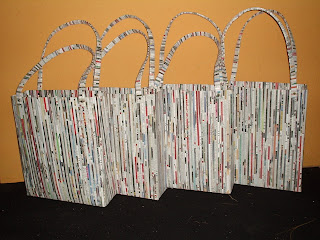 Magazine Paper And News We Use To Make Bag Mirror Boxes Etc Aluminum Cans Statute Bottle Glass Candle Holder Lantern