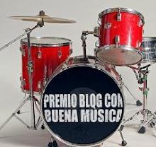 Premio blog con buena música