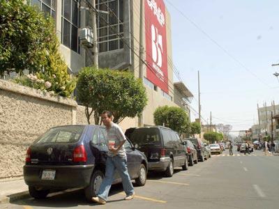 """Problemas con """"Estacionamiento UPAEP"""""""