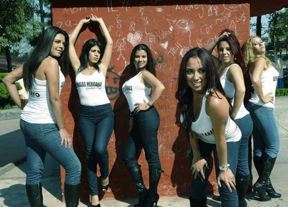 LAS AEROMOZAS DE MEXICANA, A PLAYBOY