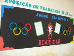 Mural: Olimpíadas 2008