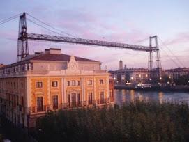 Puente colgante de Vizcaya, historia