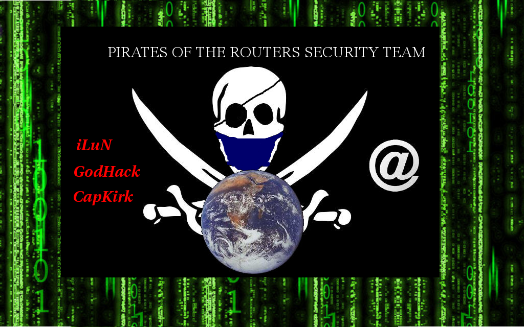 Pirates of the routers security team
