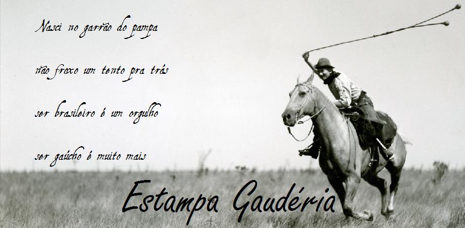 Estampa Gaudéria