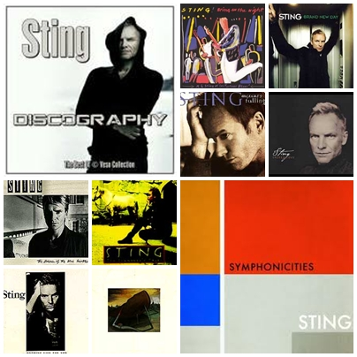 Sting - Complete Discography (1985-2003)