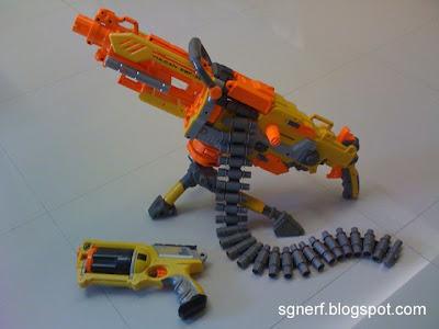 Amazon.com: Nerf N-Strike Vulcan EBF-25 Dart Blaster (Discontinued ...