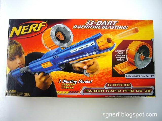 Nerf N Strike 35-Dart Ammo Drum Raider Rampage CS-35 Clip Replacement Part