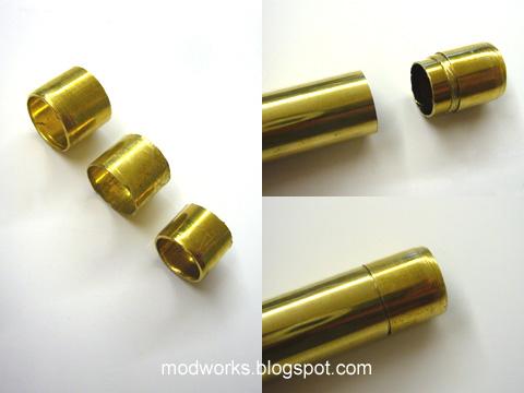Mod Works Brass Barrel Slide Breech