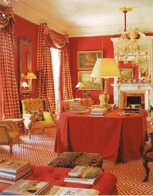 Patricia gray interior design blog red inspiration for for John stefanidis interior design