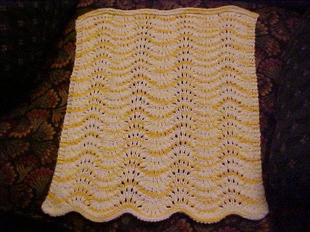 Feather And Fan Baby Knitting Patterns : My
