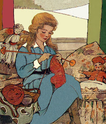 Knitting Lady