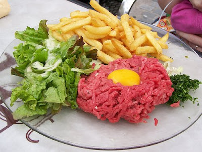 atelier-mélimélo: Un steak tartare, c'est quoi?