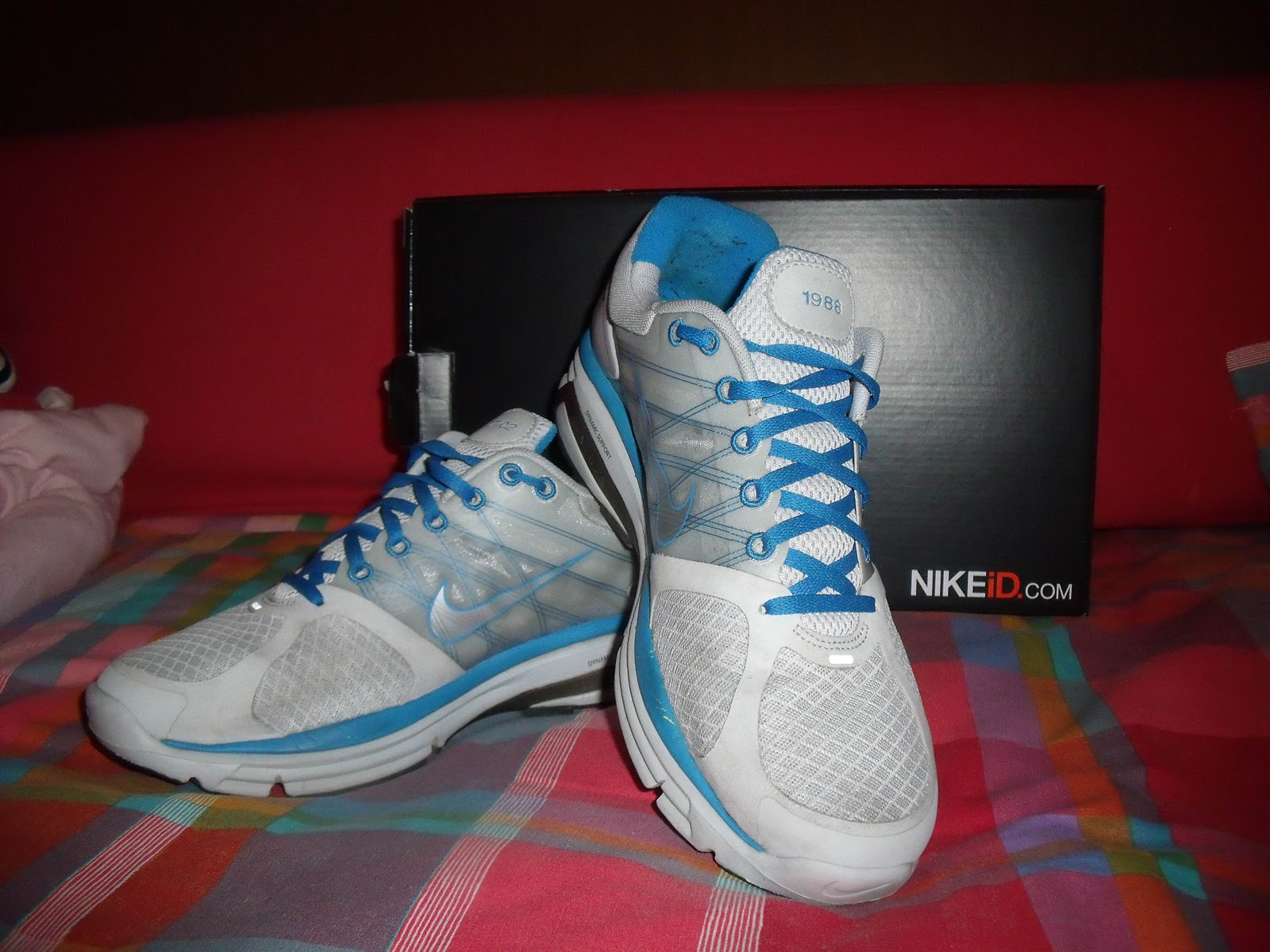 Nike Test Lunarglide And Drive 2 Shoes Nikeid Sport Cw41gawq