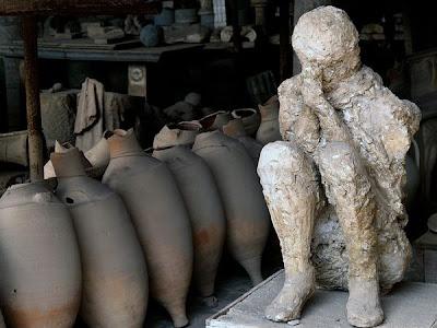 pompeiian volcano victim