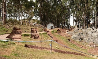 Sacsayhuaman burial place